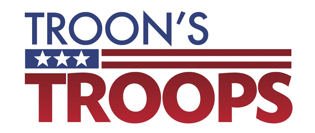 Troon's Troops logo
